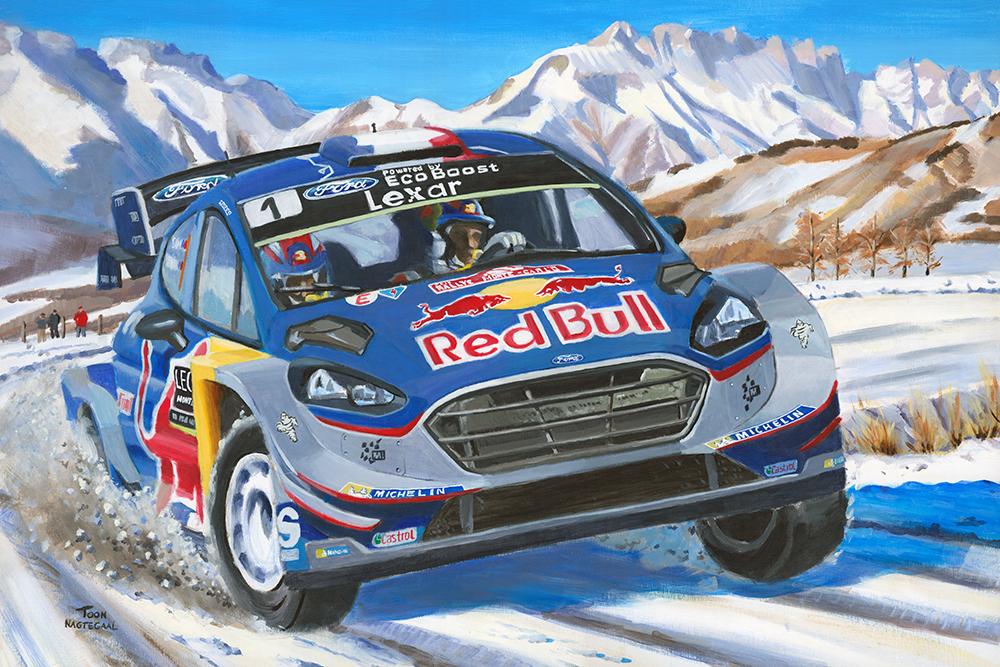 Wereldkampioen Rally 2017 Sébastien Ogier