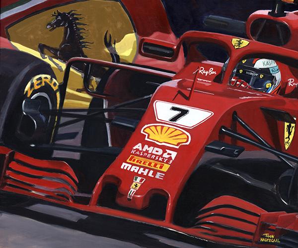 Kimi Räikkönen Ferrari SF71H