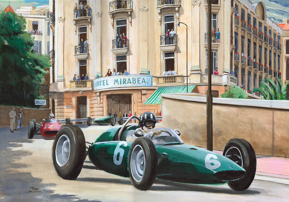Monaco 1963 Graham Hill BRM P57 FB
