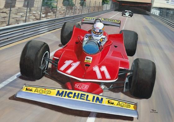 Jody Scheckter wint de GP van Monaco 1979