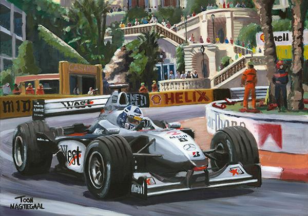 Monaco 2000 David Coulthard McLaren MP4-15