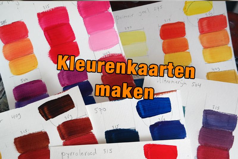 Kleurenkaarten maken