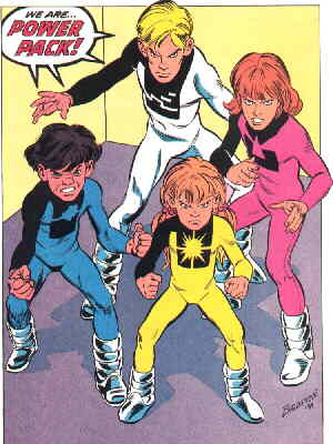Image result for power pack comic family