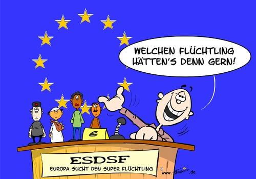 Wer die Wahl hat, hat die Qual. Welches ist den nun ein guter, welches ein schlechter Flüchtling?