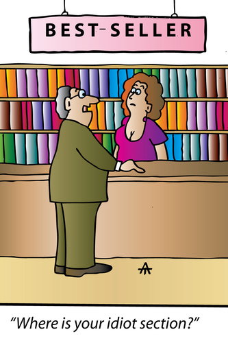 Image result for bestseller book cartoons