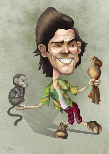 jim carrey By elidorkruja | Famous People Cartoon | TOONPOOL