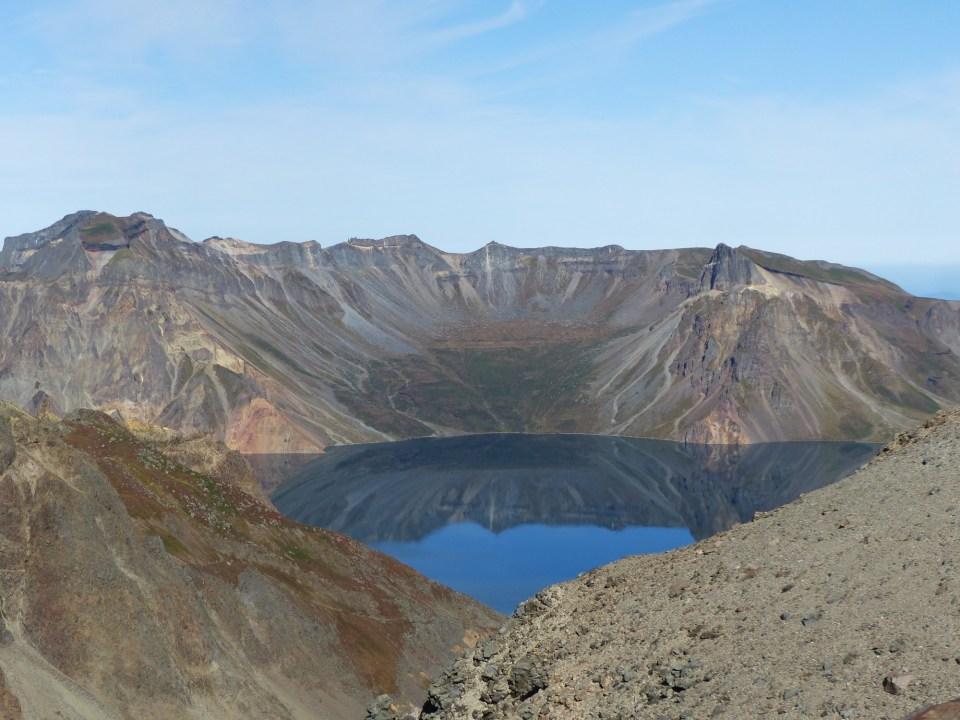Crater lake of Mount Paektu, North Korea
