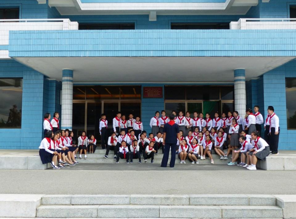 Children at Songdowon International Schoolchildren's Camp