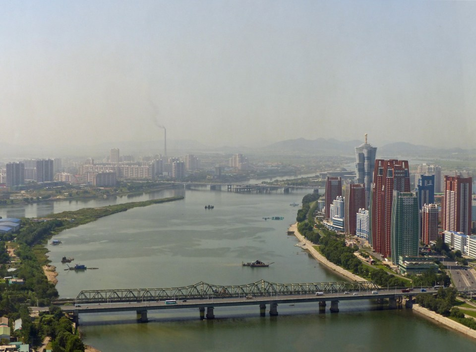 View of Pyonyang