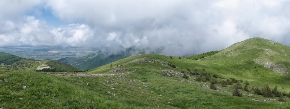 Panorama from Buzludzha Monument