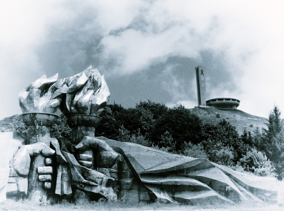 Buzludzha Monument from the Fists