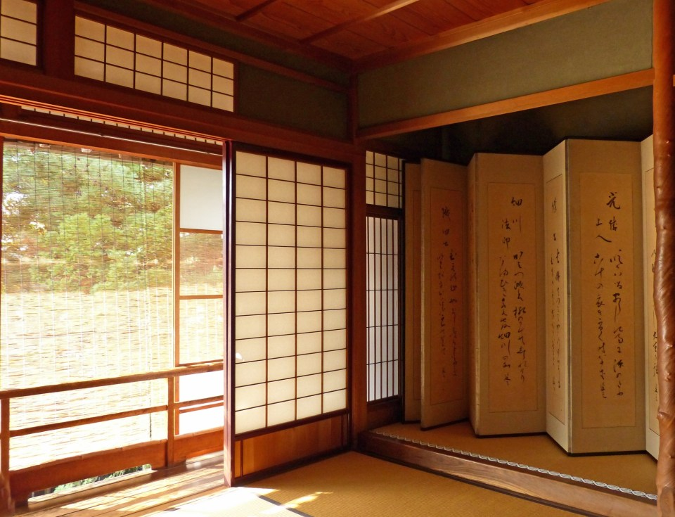 Japanese window and screen