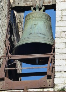 Large bell in tower
