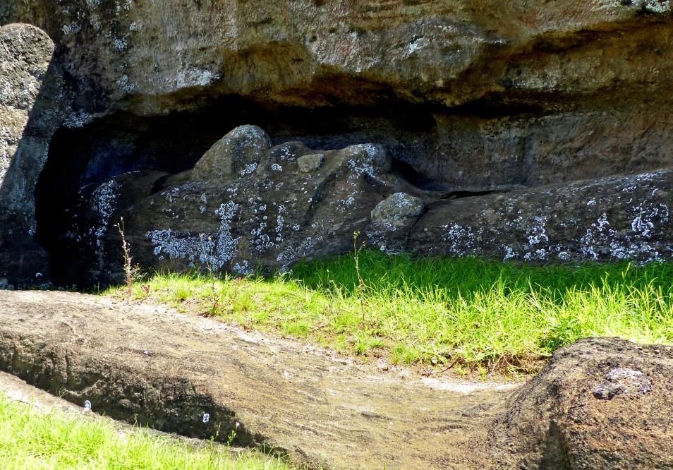 In a quarry