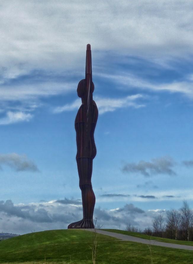 Huge sculpture