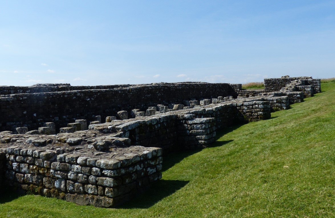 Remains of a fort