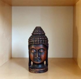 Young Buddha's head