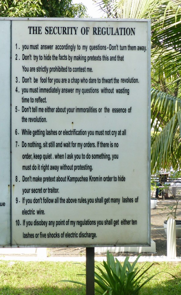 Sign listing rules