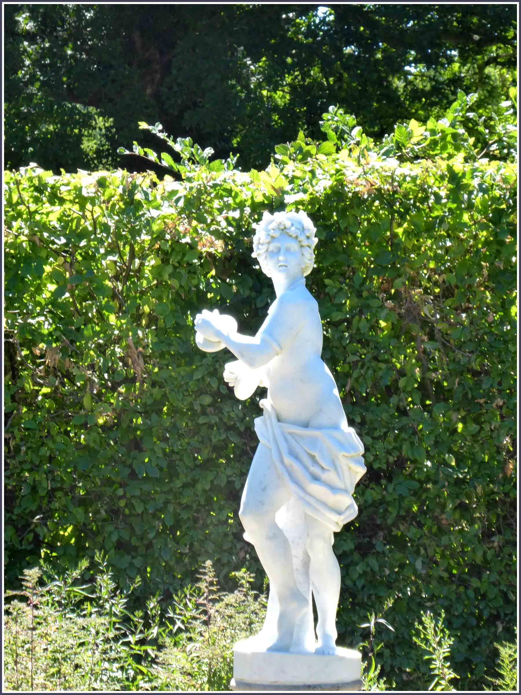 White classical statue