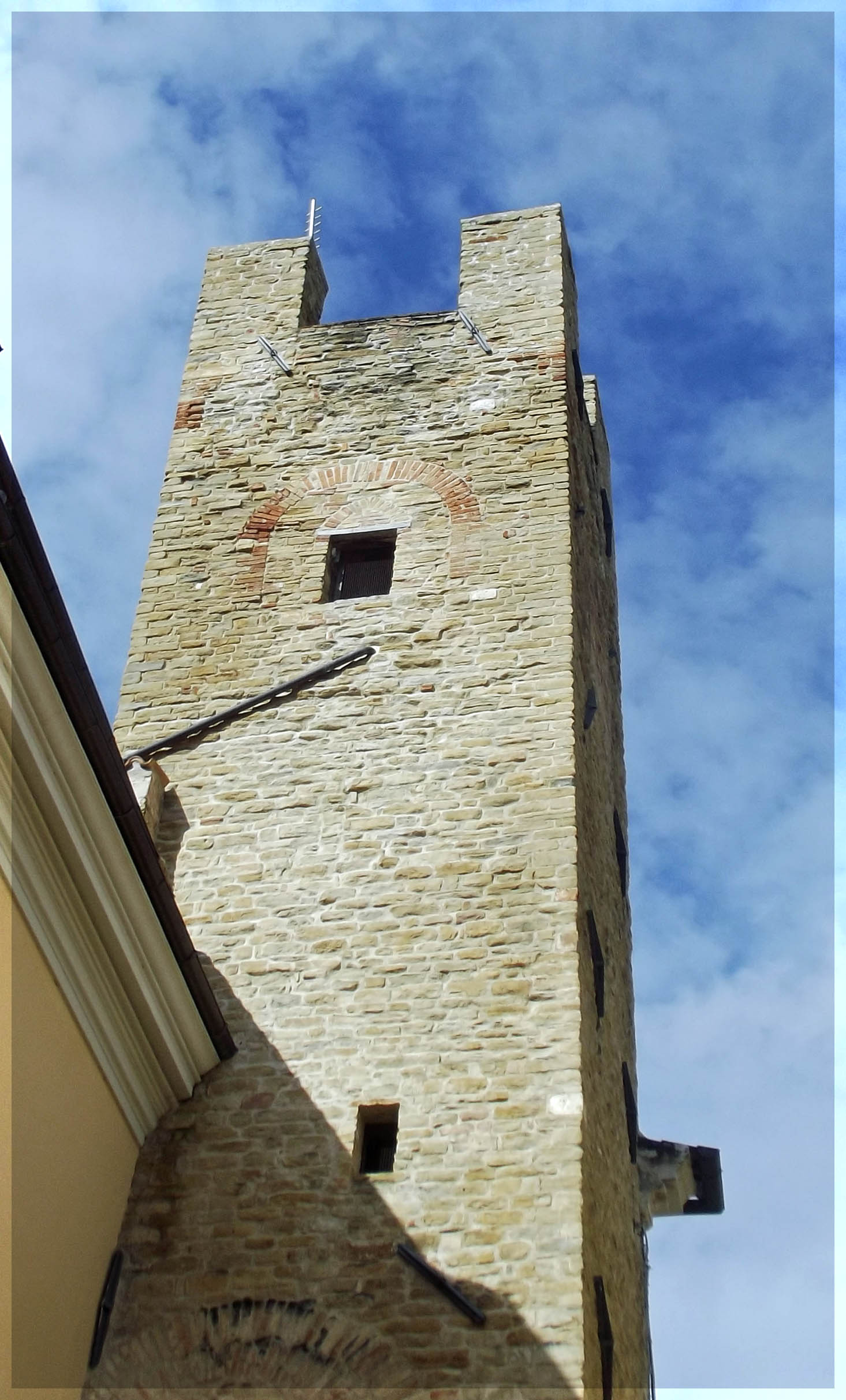 Tall stone tower
