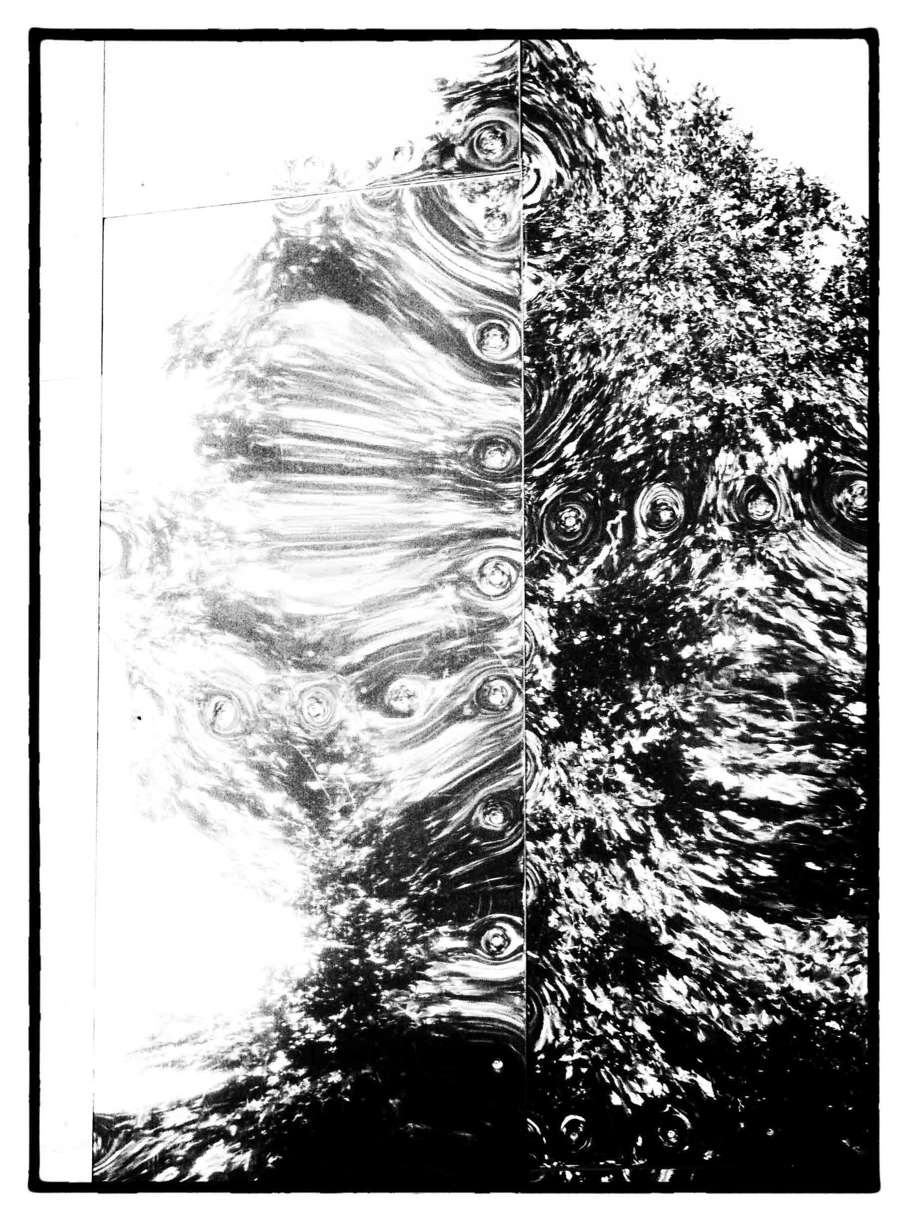 Abstract B&W image
