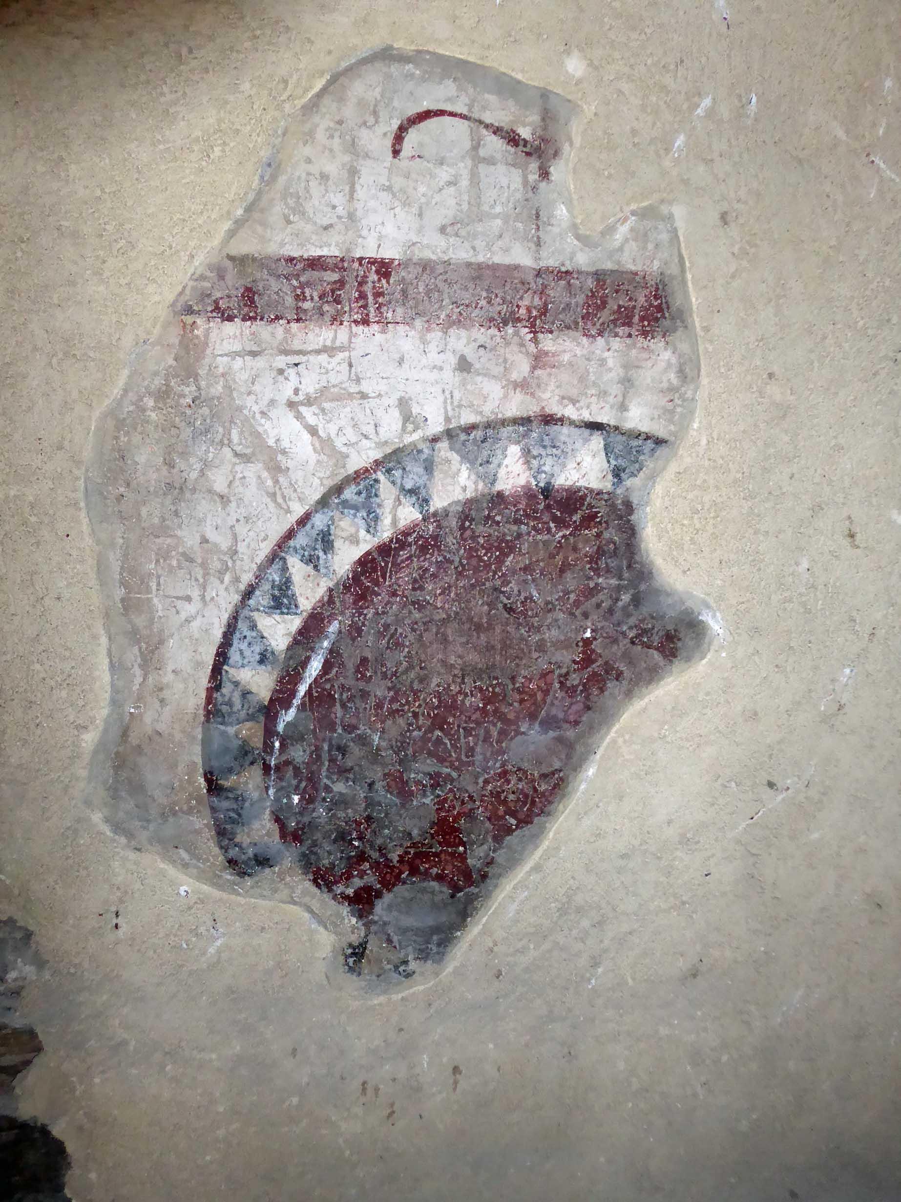 Small piece of a fresco