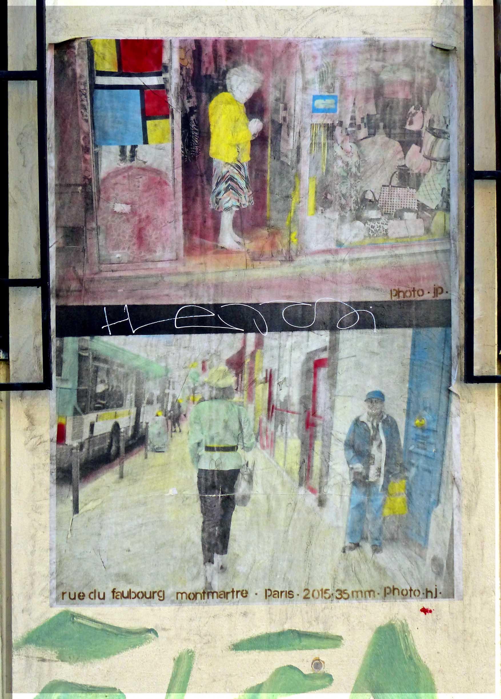 Paintings of street scenes