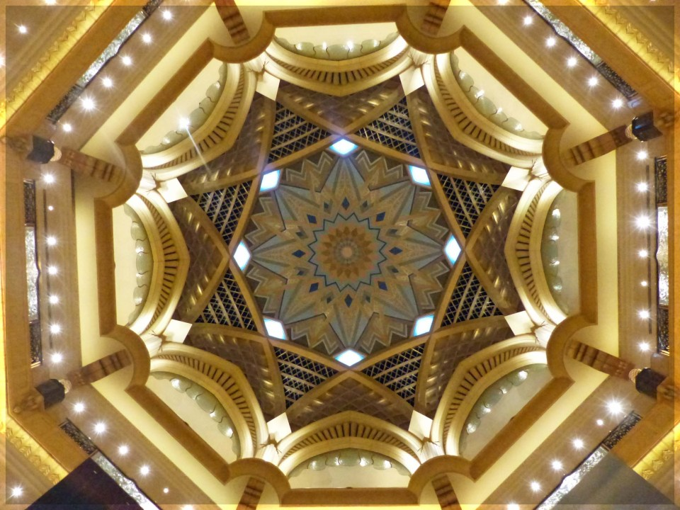 Elaborate gold dome