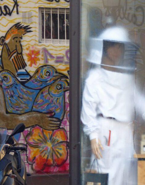 Colourful graffiti