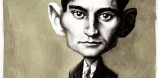 Happy Birthday, Mr. Kafka Caricature byAntonio Rodriguez Garcia, from Mexico