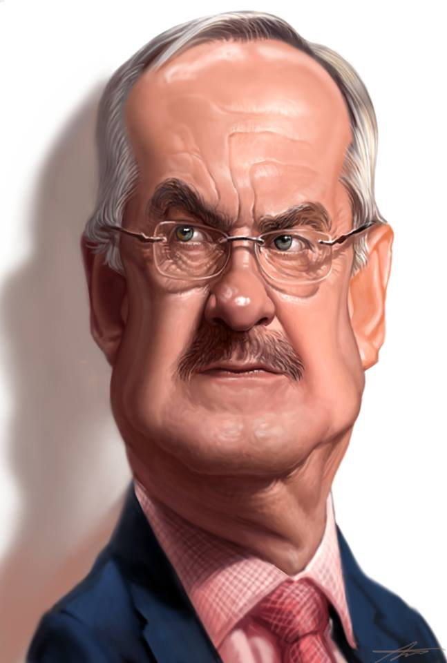 Uli Stielike Caricature by Angineer Ang