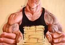 Dwayne Johnson The Rock Caricatures