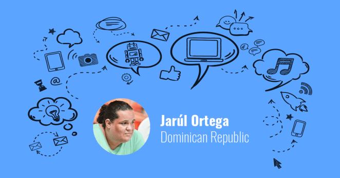 Jarúl Ortega from the Dominican Republic