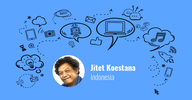 Jitet Koestana from Indonesia