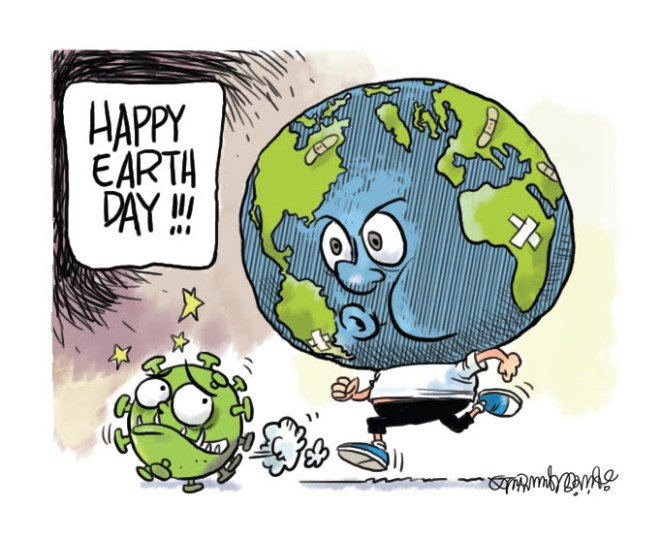Happy Earth Day - Toons Mag