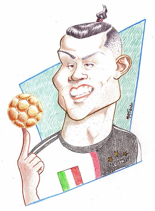 Caricature Of Cristiano Ronaldo Toons Mag