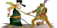 Taliban under Pakistan control Cartoon