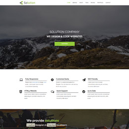 Free HTML5 CSS Templates   Page 3 Solution