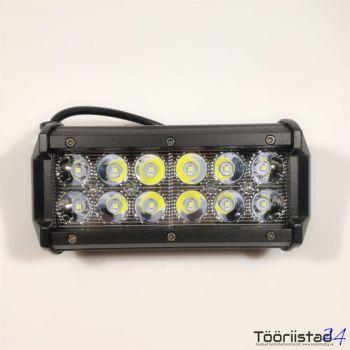Töölamp 12led 9-32v 36W 170mm
