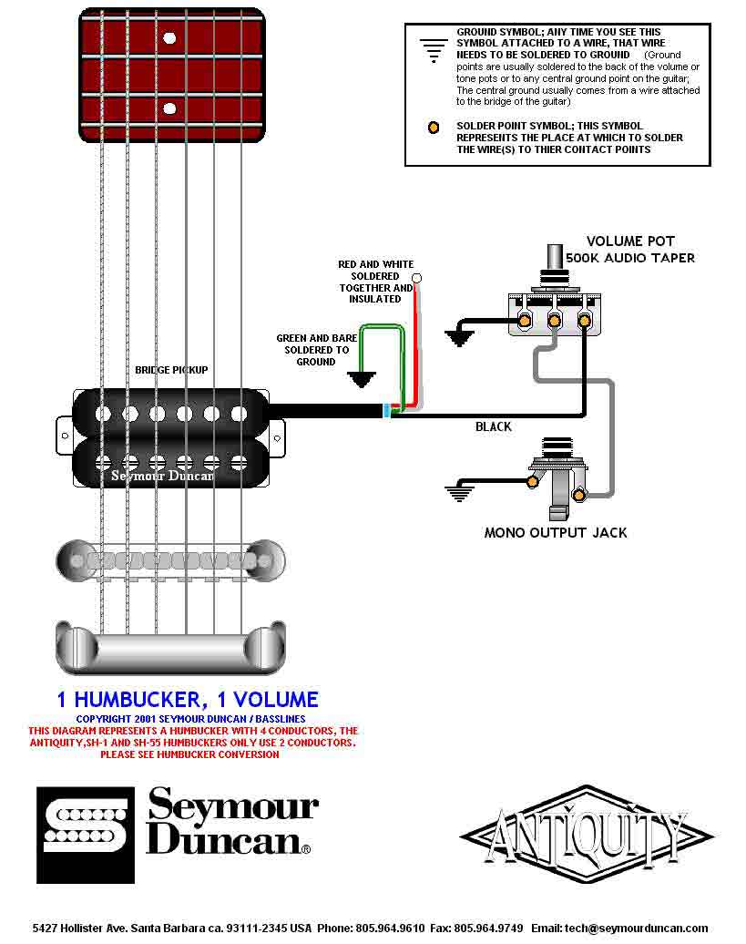 1 Humbucker 2 Single Coil Wiring Diagram