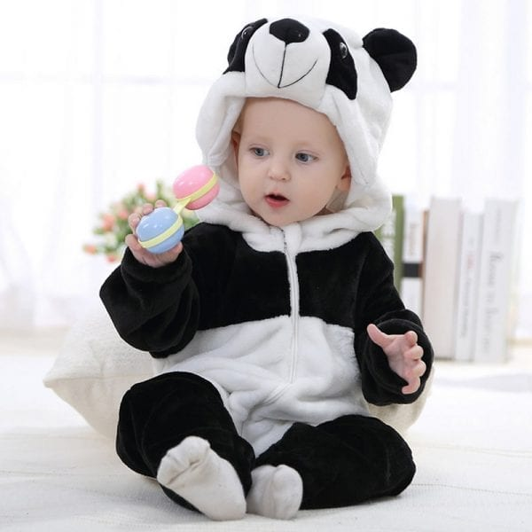 2018 Cute Cartoon Baby Rompers 1