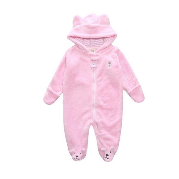 Winter Child style children's fleece overalls 1