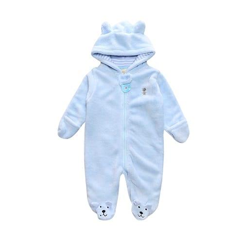 Winter Child style children's fleece overalls 3