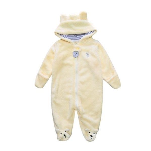 Winter Child style children's fleece overalls 5