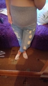 Jeans Maternity Pants For Pregnant Women photo review