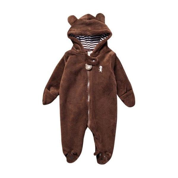 Winter Child style children's fleece overalls 4