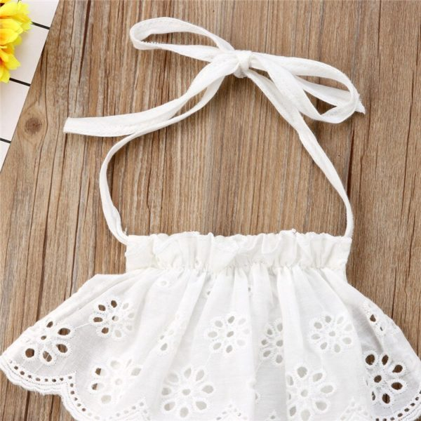 Cute Newborn Kids Baby Girl Infant Lace Romper Dress Jumpsuit Playsuit Clothes Outfits 3