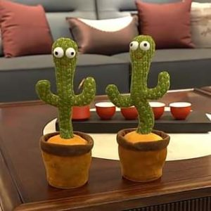 Dancing Cactus, Singing Cactus Toy, Cactus Plush Toy for Home Decoration and Children Playing Without Recording Function photo review