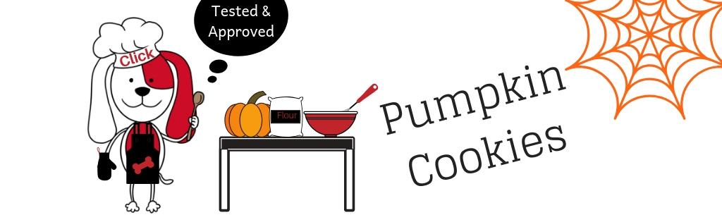 dog treat - pumpkin dog cookie recipe
