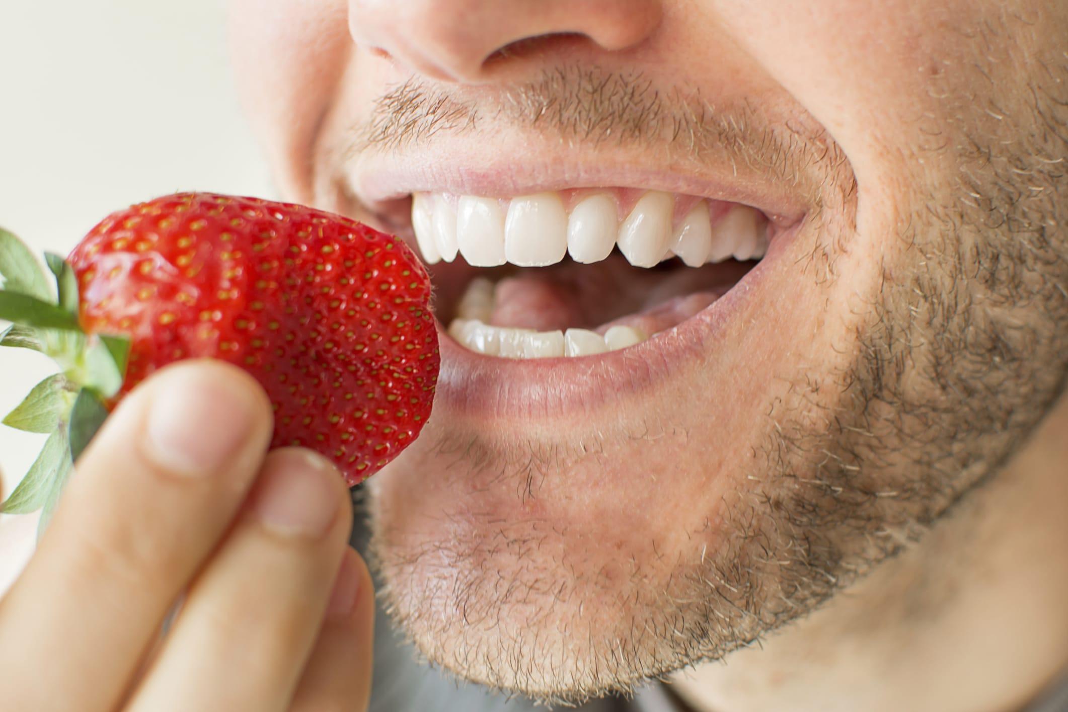 Whiter Teeth By Eating Strawberries